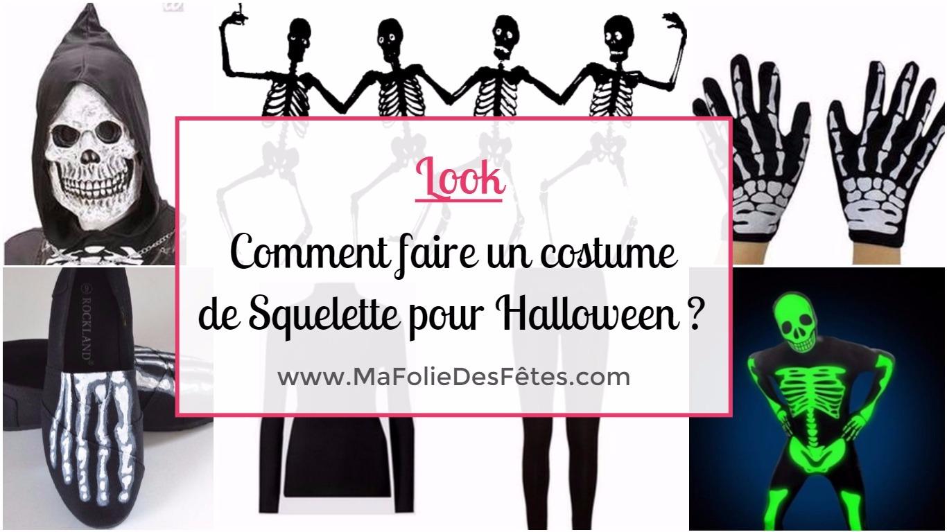 ☆ Squelette : Comment Faire Un Costume De Squelette ? Tutos serapportantà Squelette A Imprimer