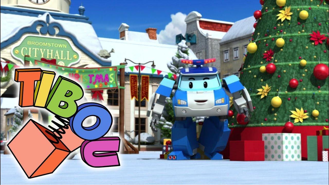♫ Robocar Poli Fête Noël En Chanson - Jingle Bells ☼ à Chanson Robocar Poli
