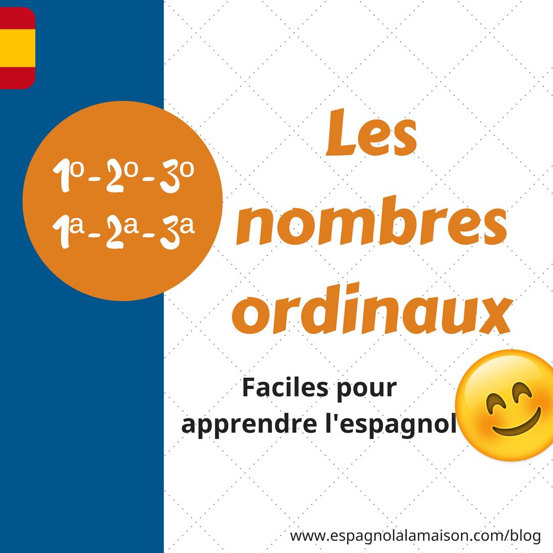 ✅ Nombres Ordinaux En Espagnol dedans Nombre En Espagnol De 1 A 1000