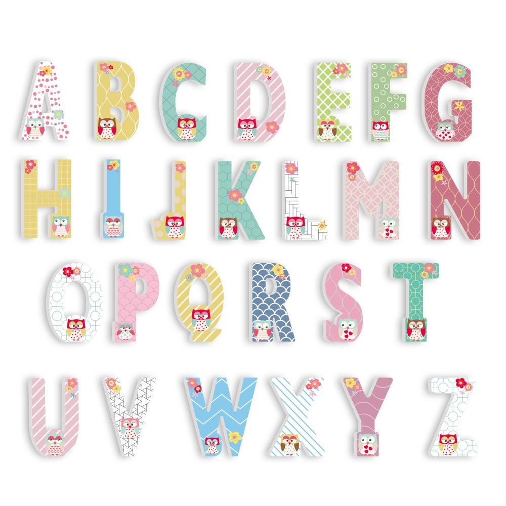 €3.22 30% De Réduction|3D Pvc Chambre D'enfant Décoration Lettre  Autocollants Majuscule Anglais Alphabet Lettres Maternelle Aire De Jeux  Pépinière intérieur Jeux Enfant Maternelle