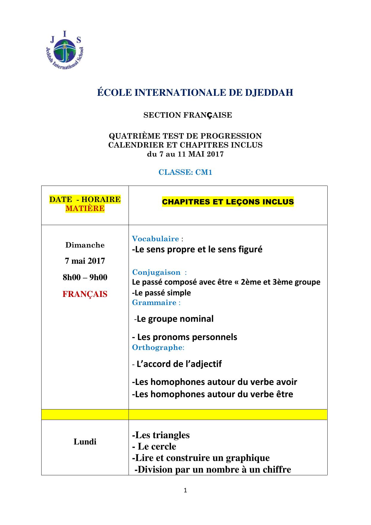 École Internationale De Djeddah encequiconcerne Leçon Respiration Cm1