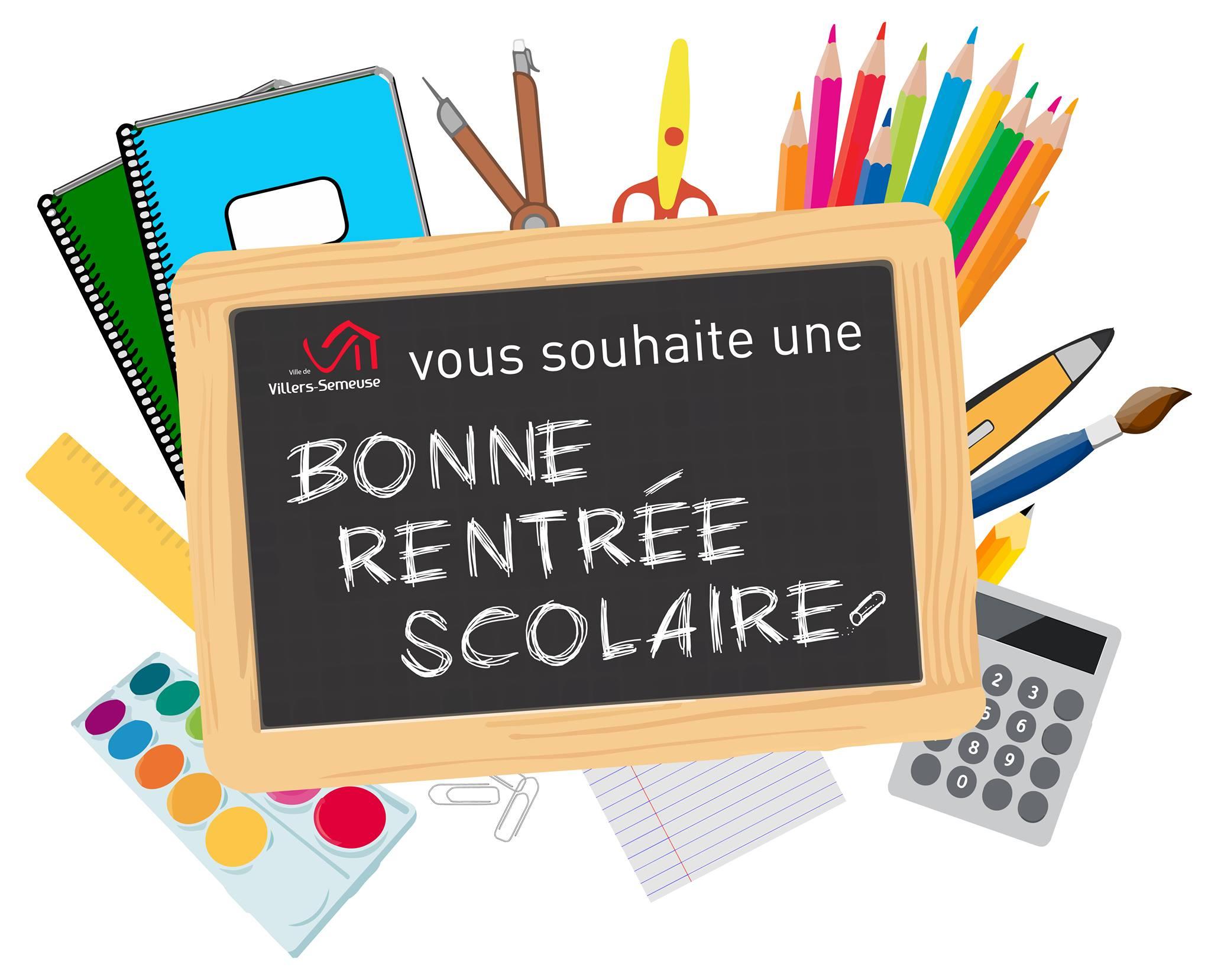 Ecole, Mairie - Bonne Rentrée Scolaire ! | Commune De dedans Image Bonne Rentrée Des Classes
