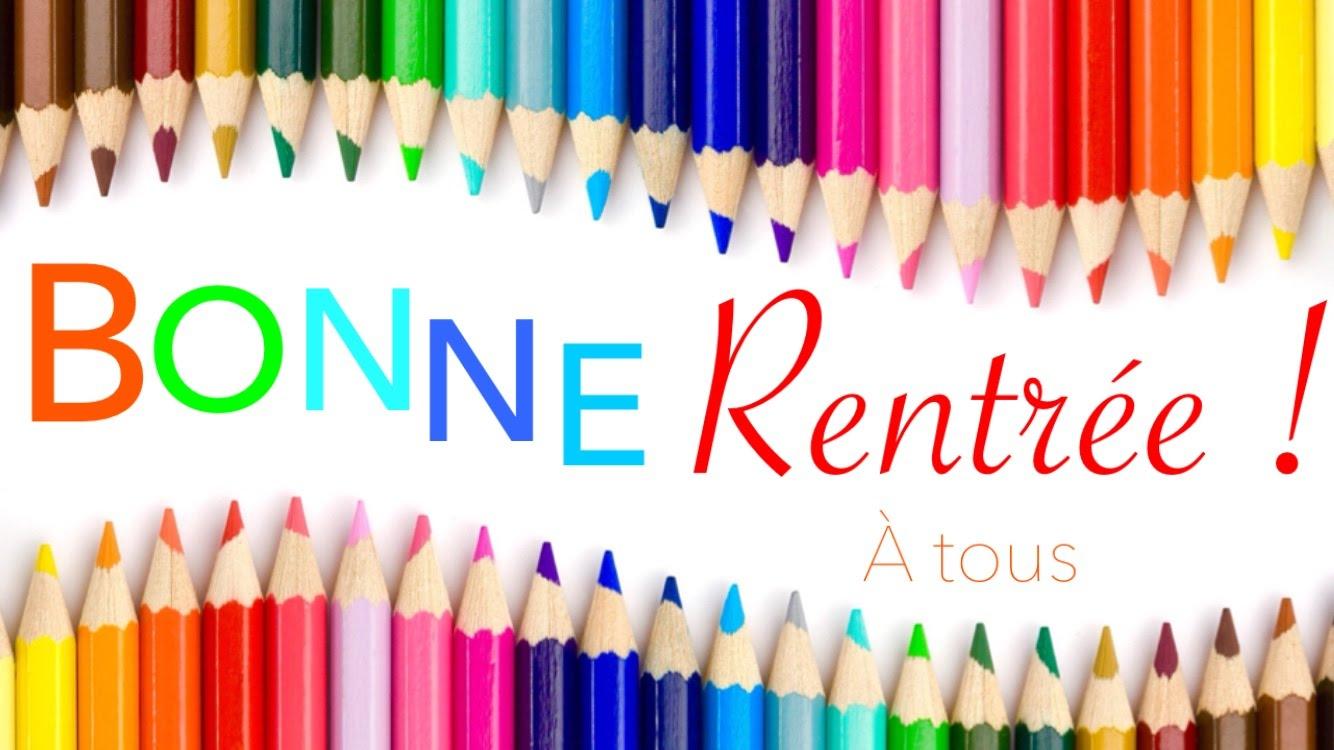 Ecoles Privées En Rpi Sainte Marie Et Jeanne D'arc: Bonne concernant Image Bonne Rentrée Des Classes
