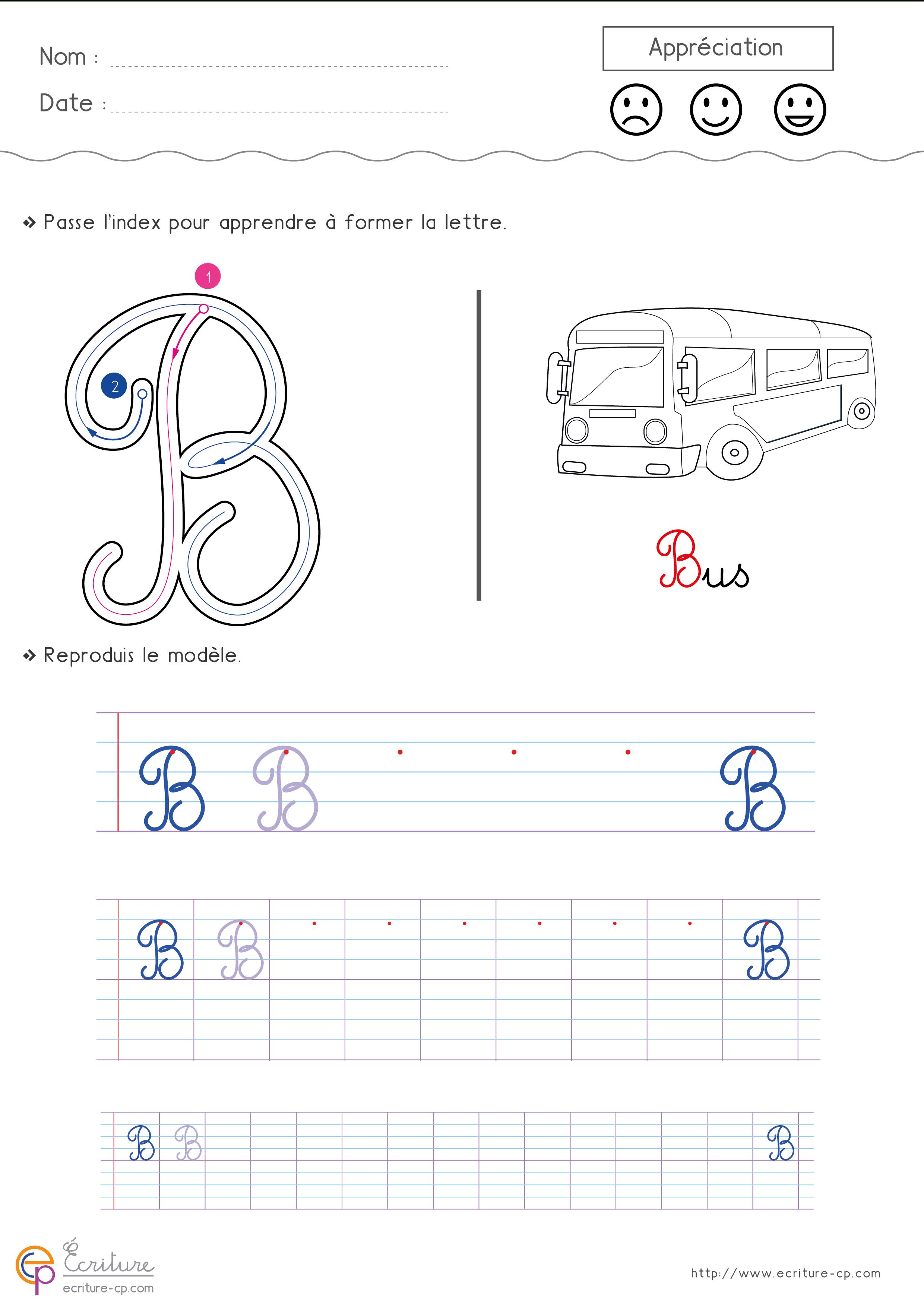Écrire L'alphabet Majuscule Cursive Cp Ce1 | Fiche D à T Majuscule En Cursive