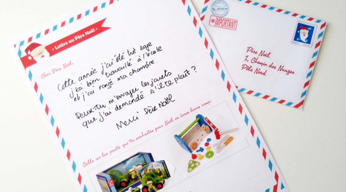 Ecrire Sa Lettre Au Père Noël - Jouets - Le Forum Des Parents intérieur Reponse Lettre Du Pere Noel A Imprimer