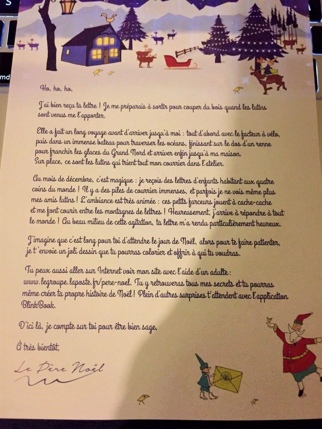 Écrire Une Lettre Au Secrétariat Du Père Noël, Le Guide Pratique dedans Reponse Lettre Du Pere Noel A Imprimer