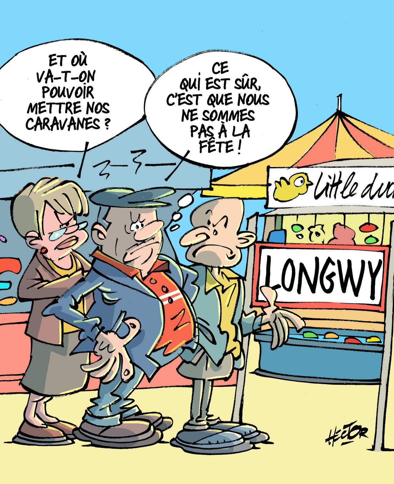 Edition Longwy | Foire De Longwy : Un Lapin Pour 2020 ? intérieur Dessin De Fete Foraine