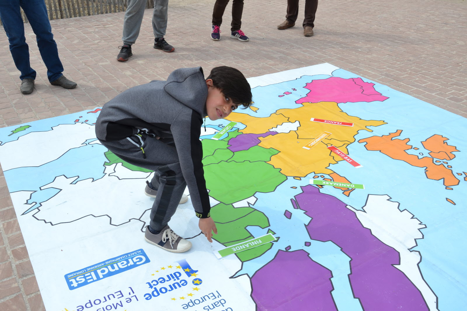 Edition Saint Dié | Photos. Un Jeu Pour Tester Ses avec Carte Europe Capitale