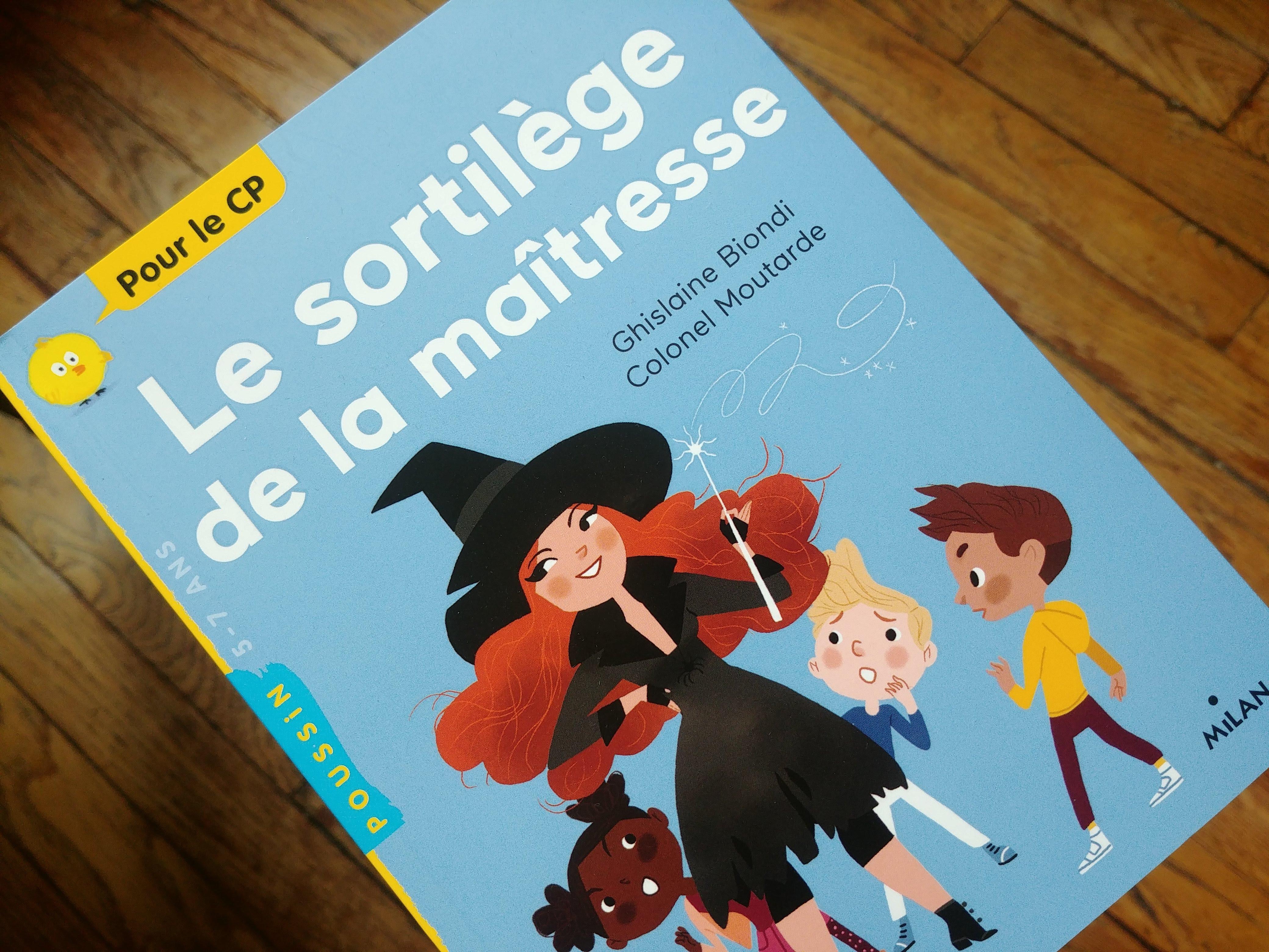 Editions Milan – Myloubook tout Pelagie La Sorciere