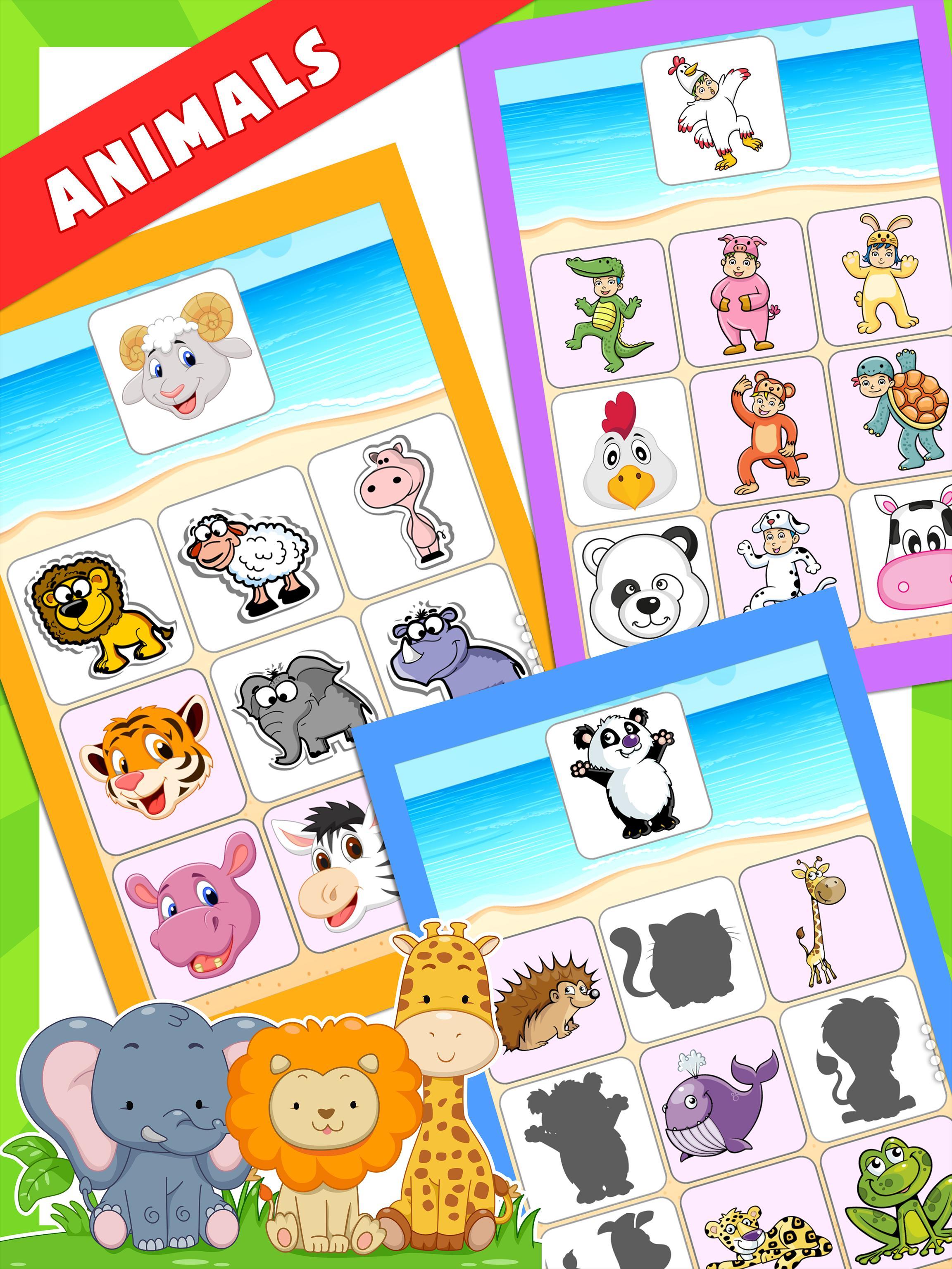 Enfants Jeux Éducatifs (Préscolaire) Pour Android dedans Jeux Educatif 4 Ans