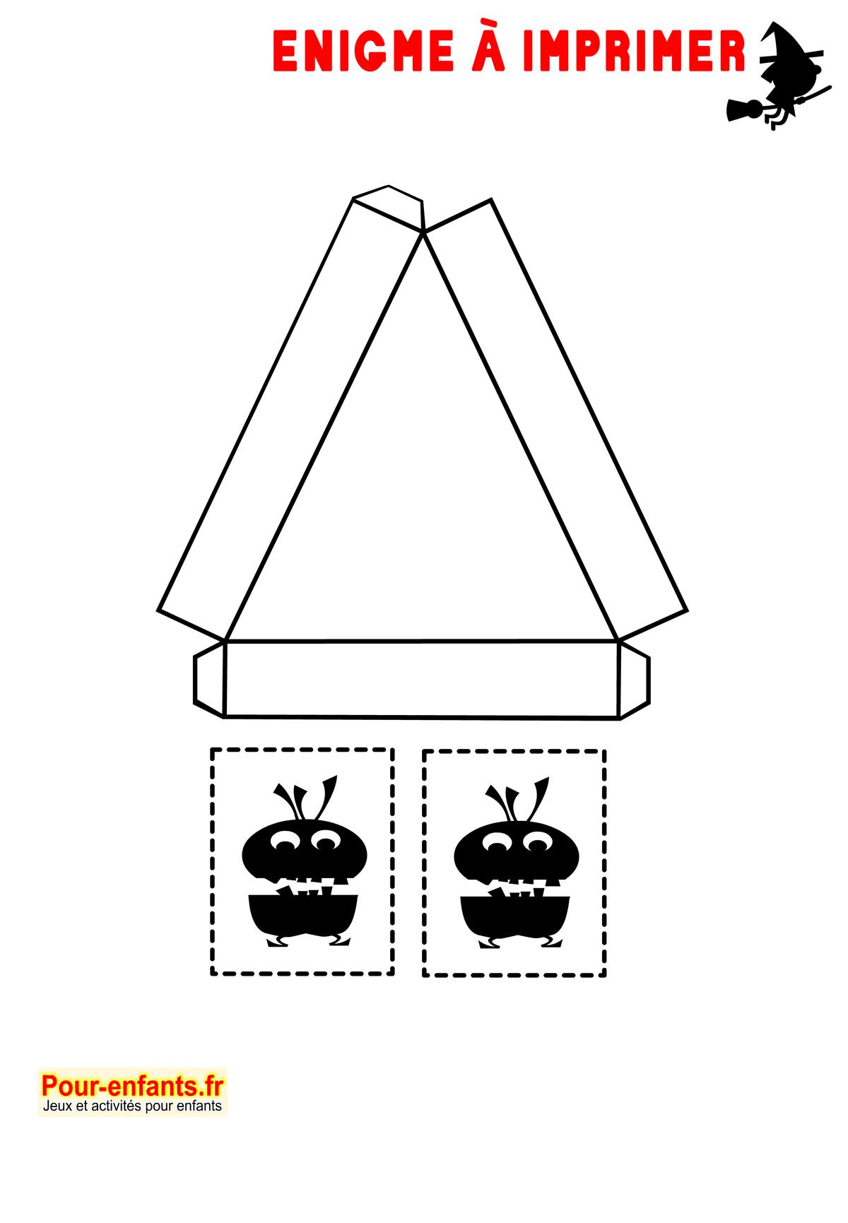Enigmes Idées Activités Jeux À Imprimer Halloween Bricolage dedans Jeux Facile Pour Petit Gratuit