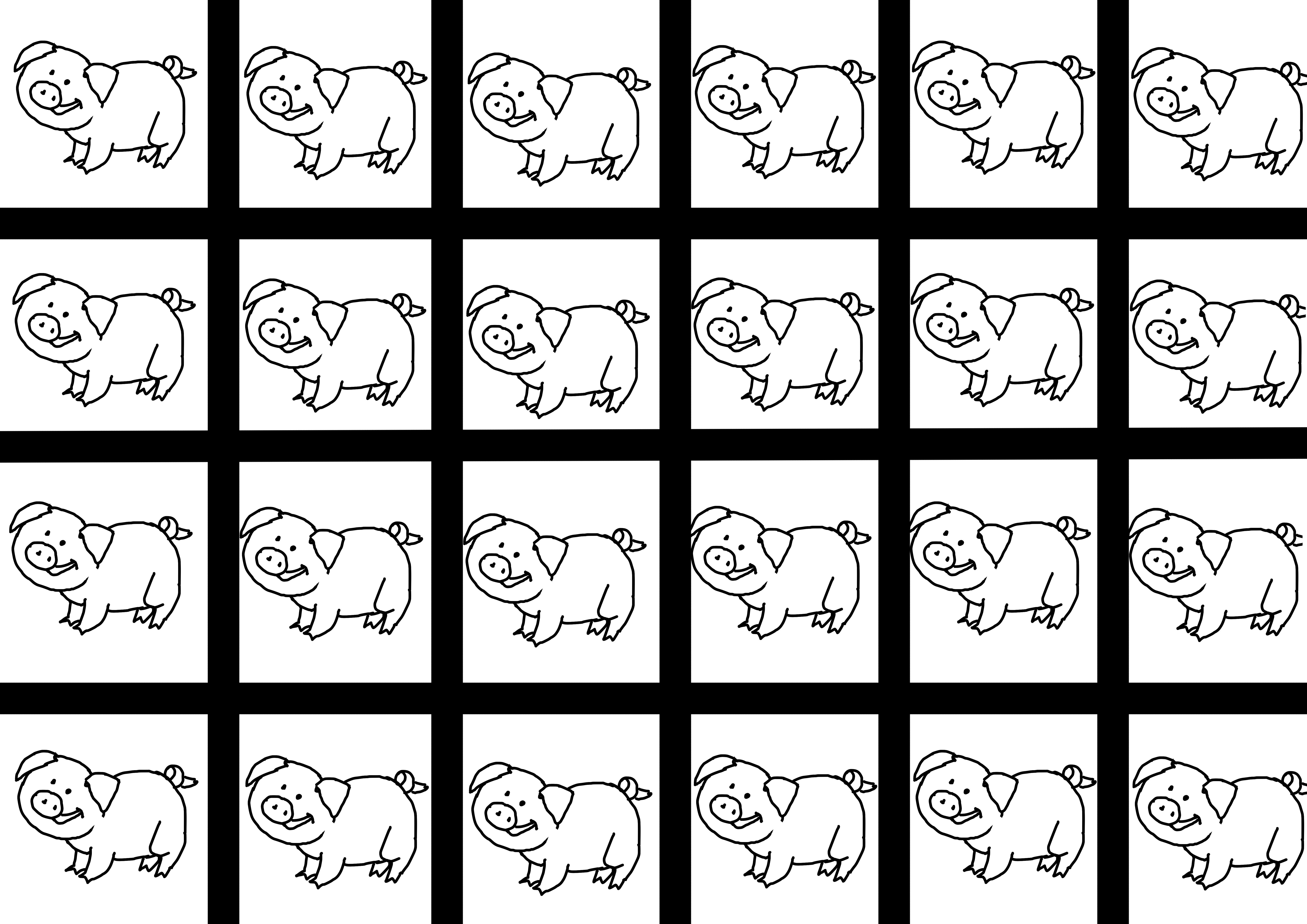 Entrainement Au Découpage Les Trois Petits Cochons – Le Plan B pour Découpage Collage Maternelle À Imprimer