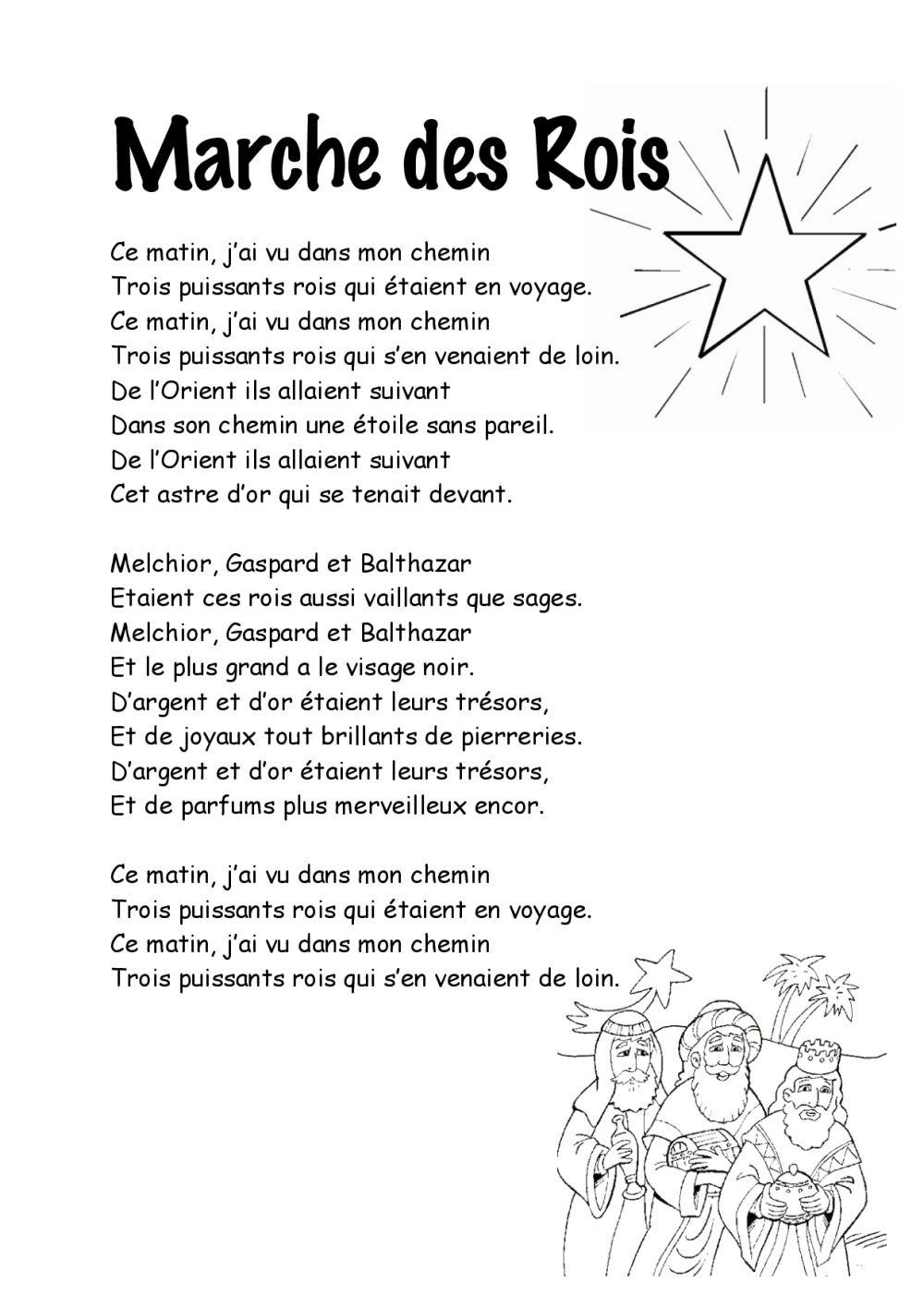 Entre Le Boeuf Et L'âne Gris Il Est Né Le Divin Enfant Mon avec Papa Noel Parole