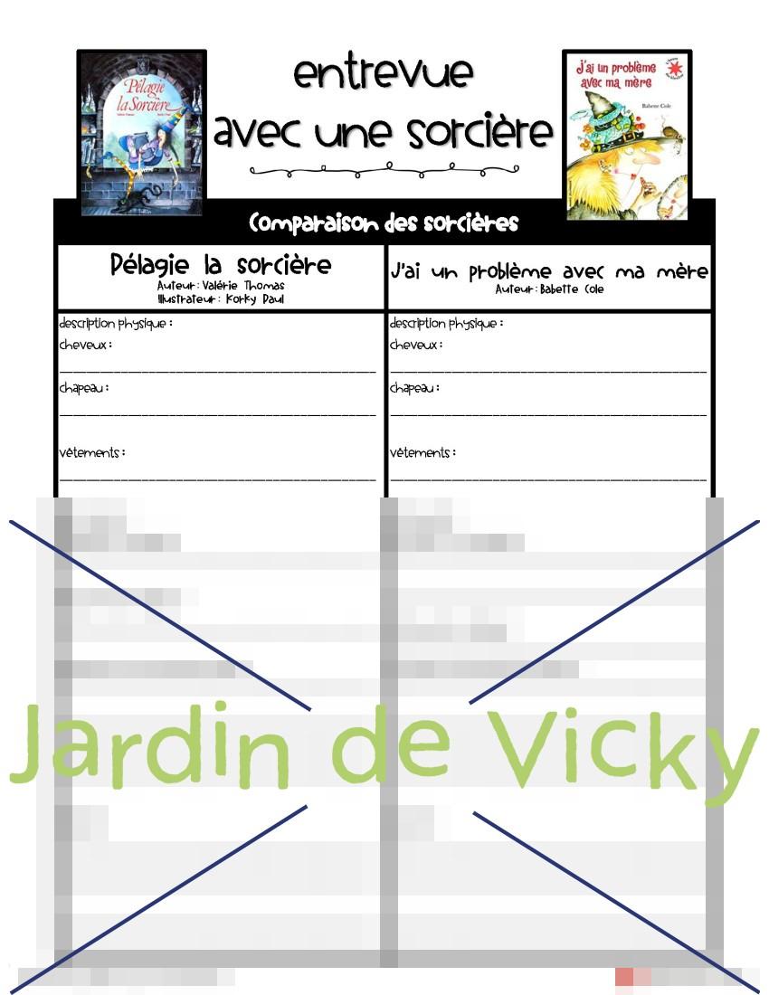 Entrevue Avec Une Sorcière | Jardin De Vicky destiné Pelagie La Sorciere