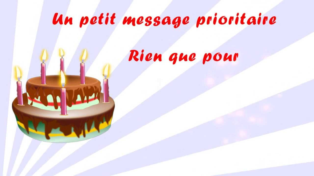 Envoyer Message Video Pour Anniversaire - Elevagequalitetouraine encequiconcerne Bon Anniversaire Humour Video