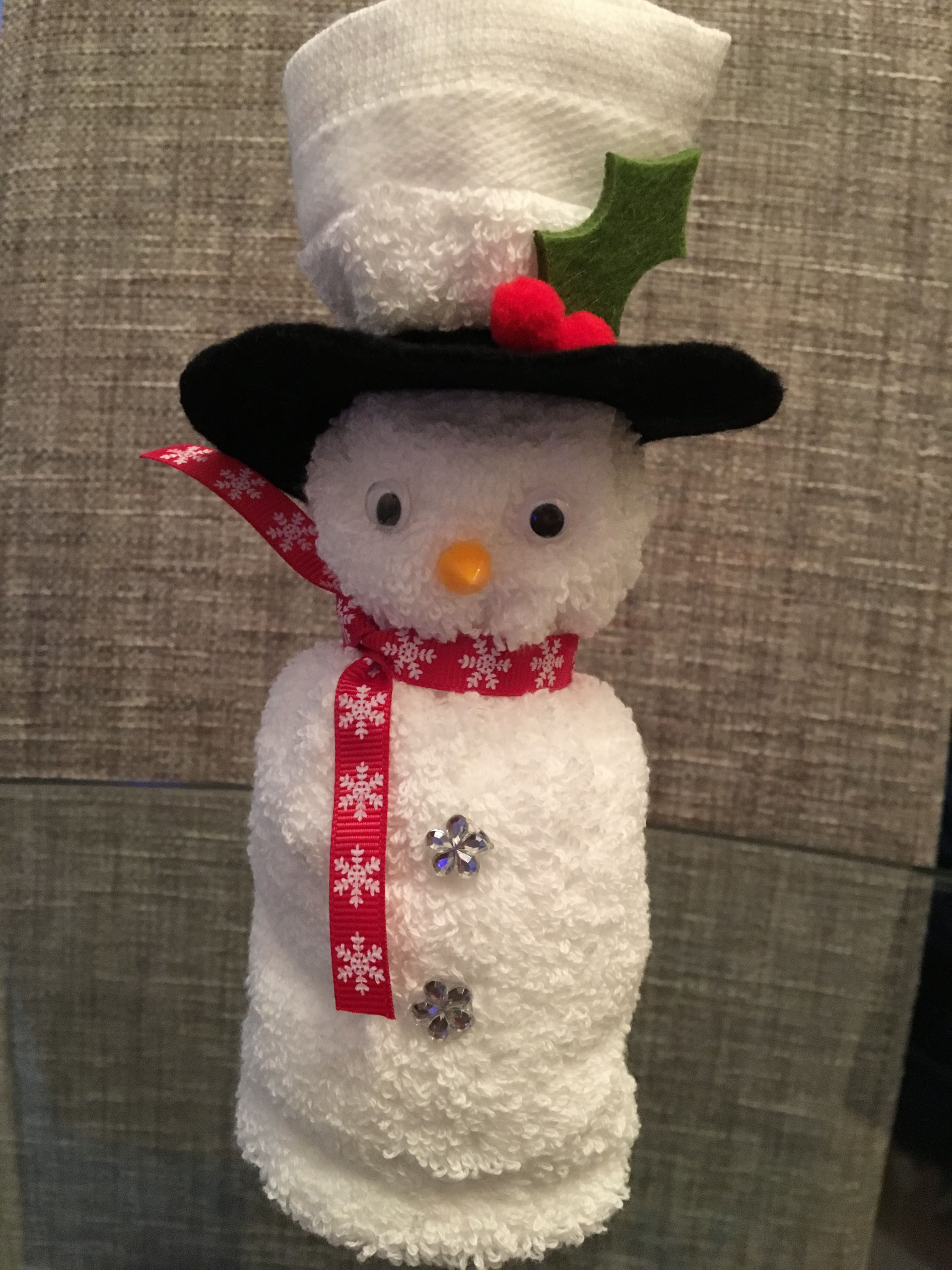 Épinglé Par Dhennin V Sur Cadeau | Bricolage Noel Facile avec Origami Bonhomme De Neige