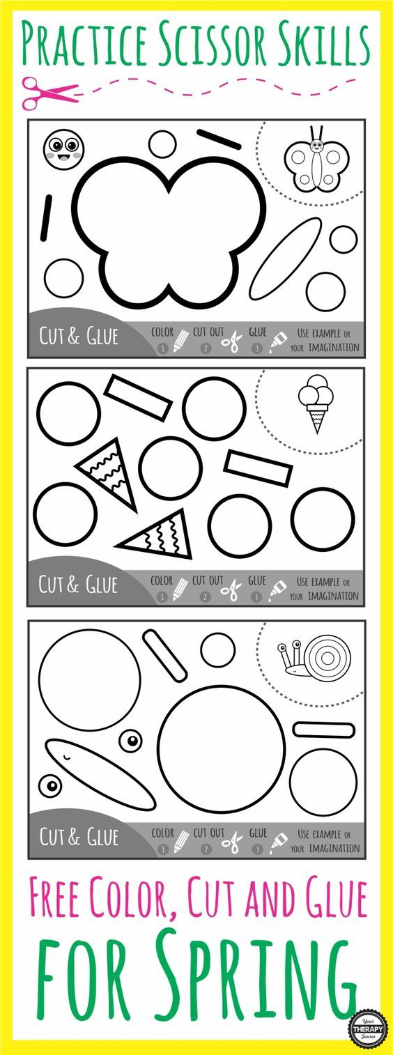 Épinglé Sur Enfants pour Découpage Collage Maternelle À Imprimer