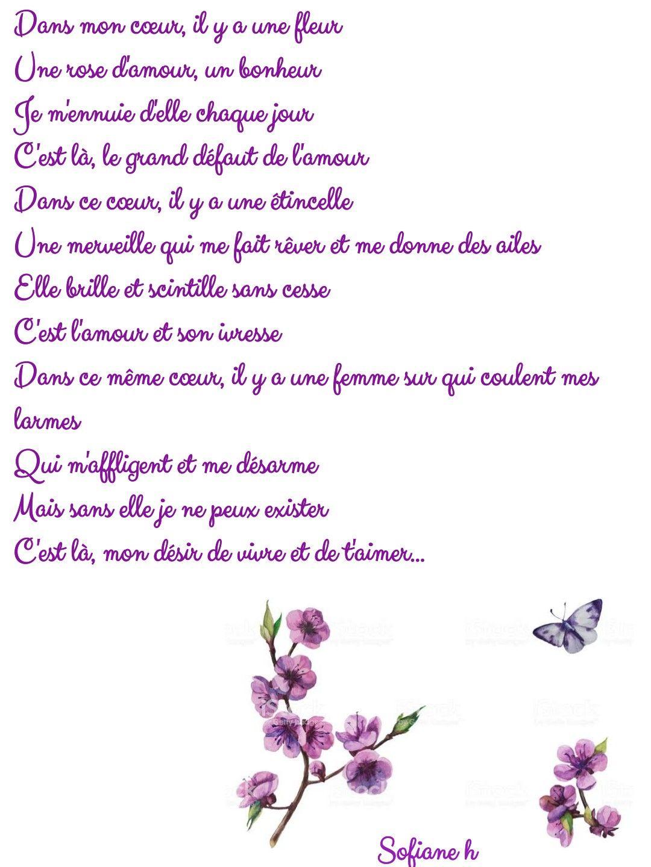 Épinglé Sur Joug serapportantà Poeme Les Fleurs