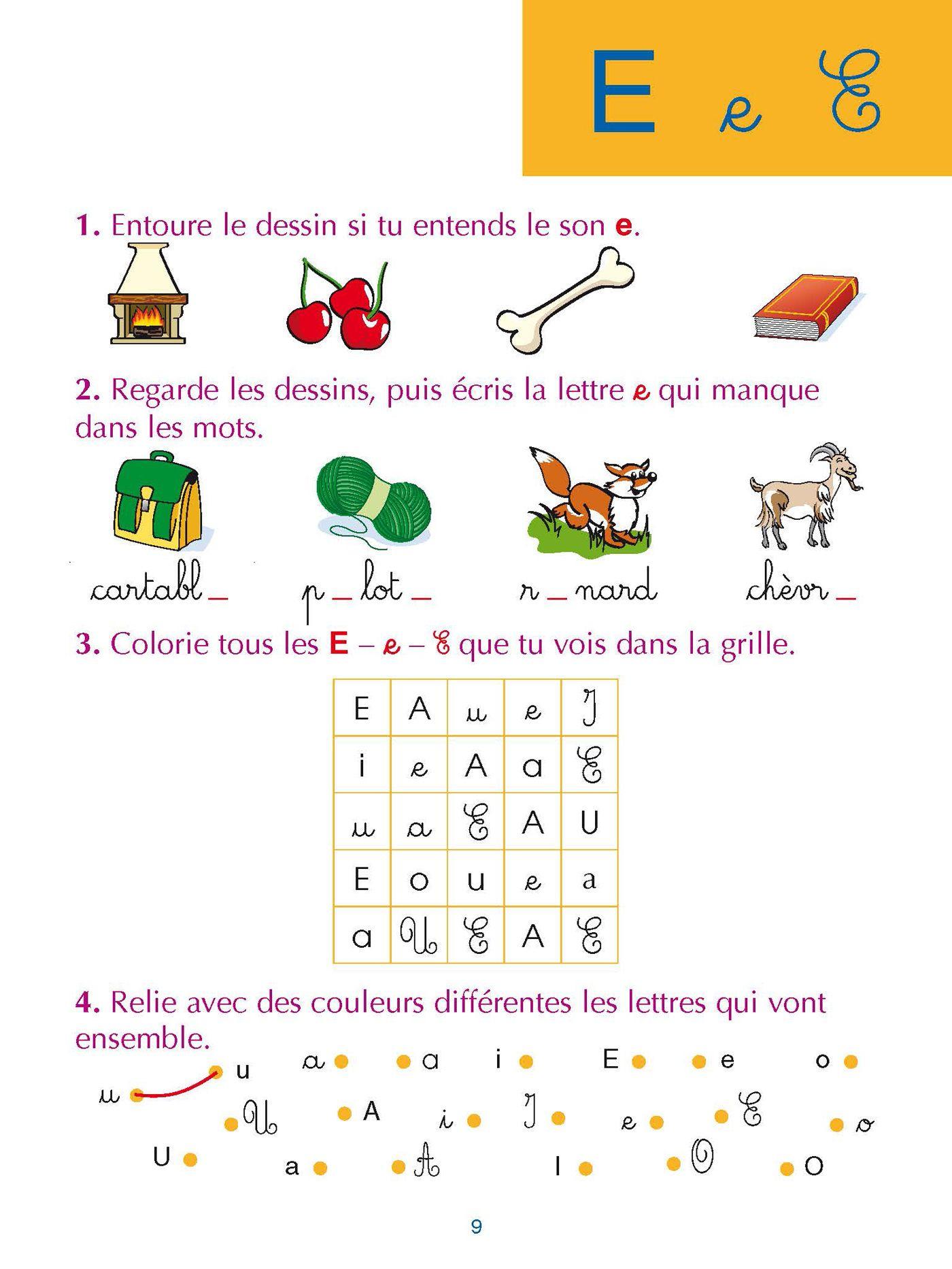 Épinglé Sur Maternelle concernant Jeux De Lettres Enfants