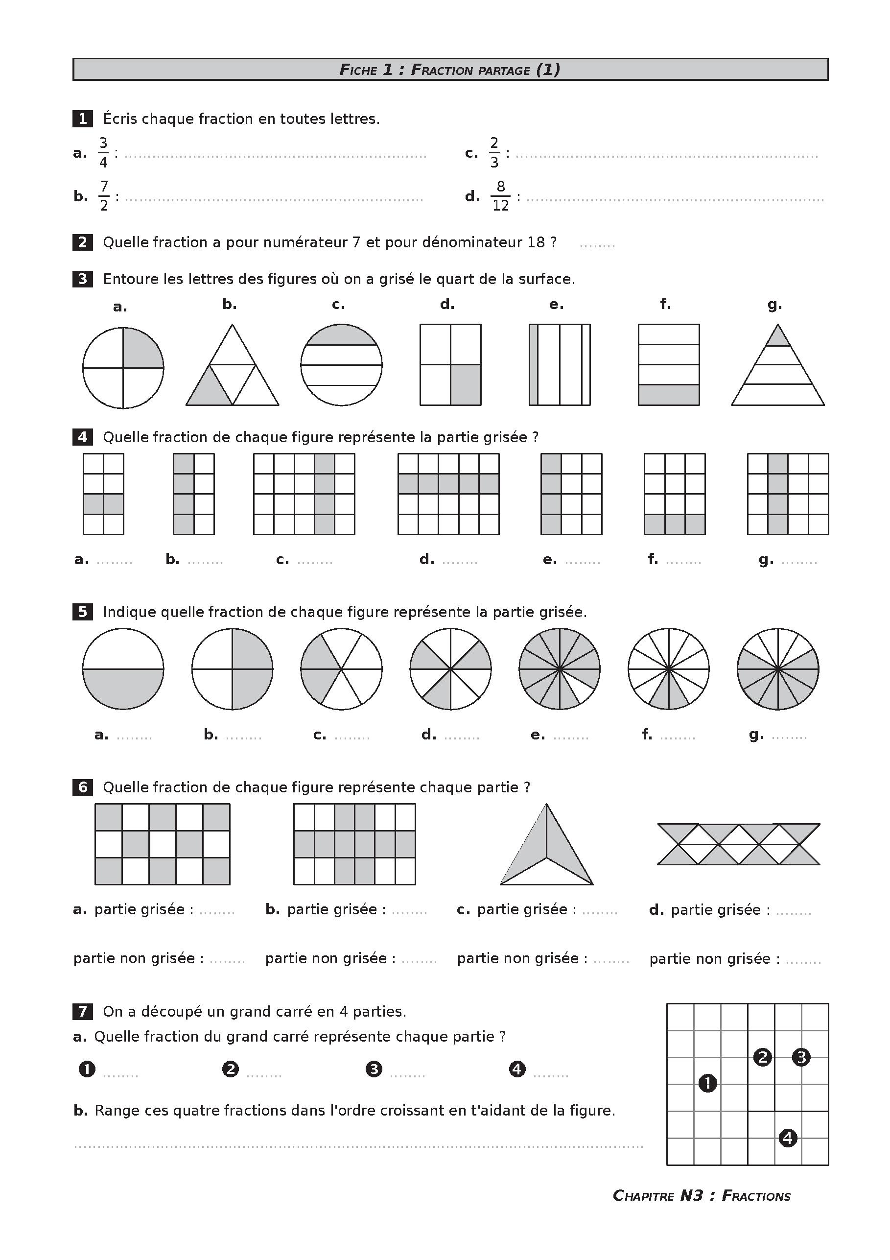 Épinglé Sur Pédagogie Maths avec Exercice Cm2 Gratuit