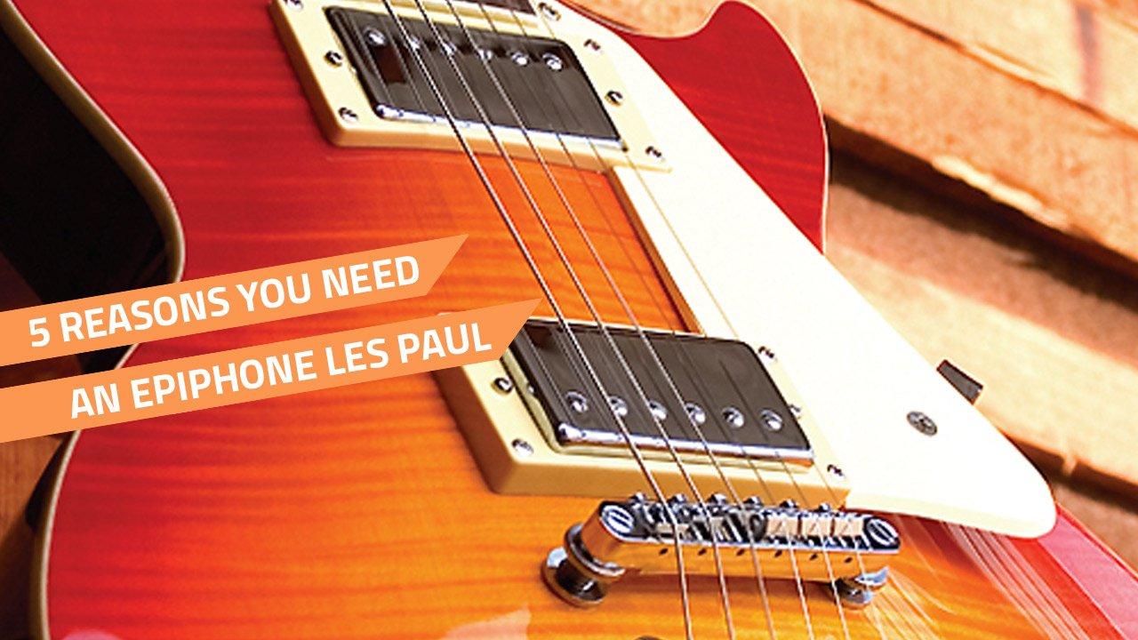 Epiphone Les Paul Standard Review - 5 Reasons It's Great concernant Les 5 Differences