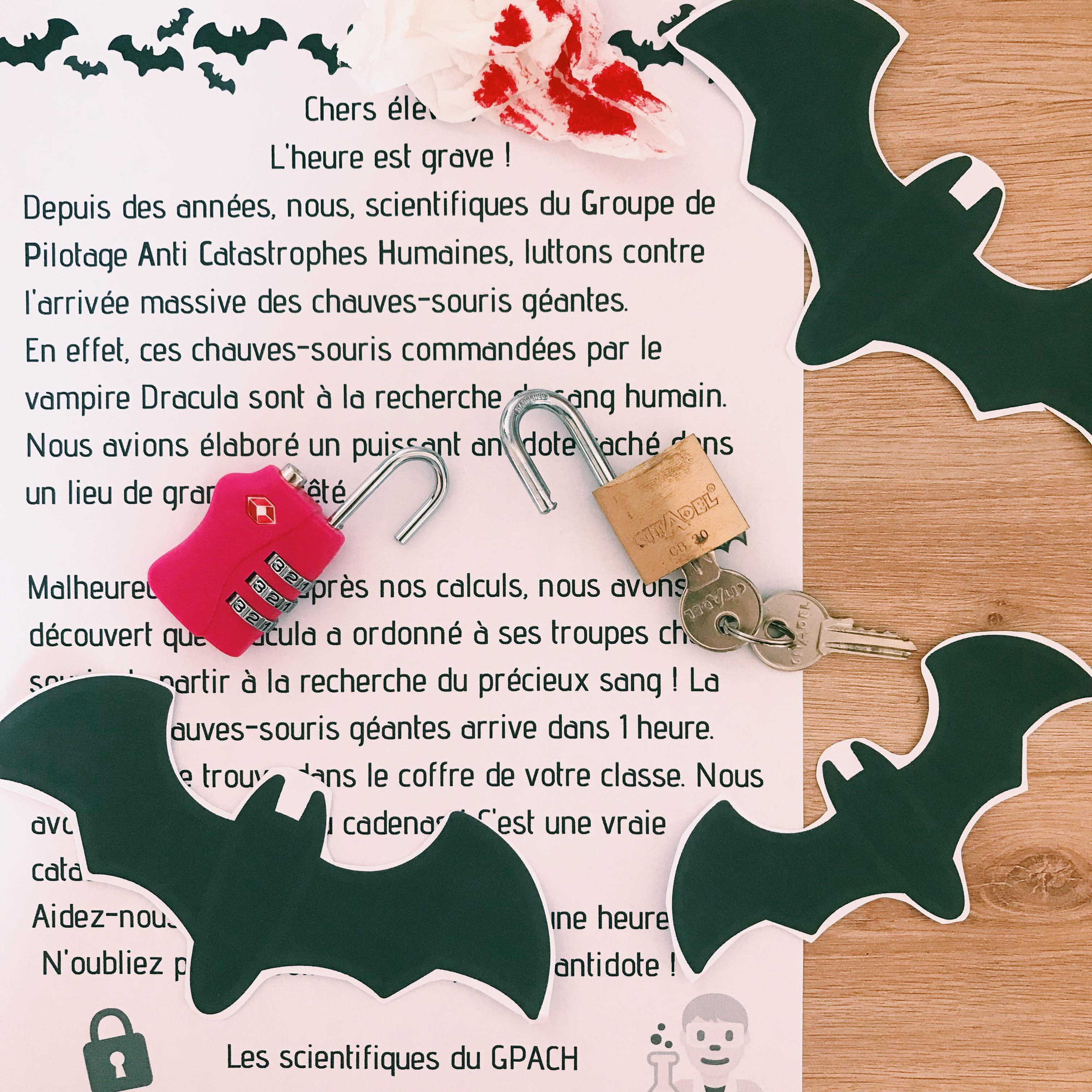 Escape Game D'halloween | Maitresse De La Forêt dedans Halloween Ce2