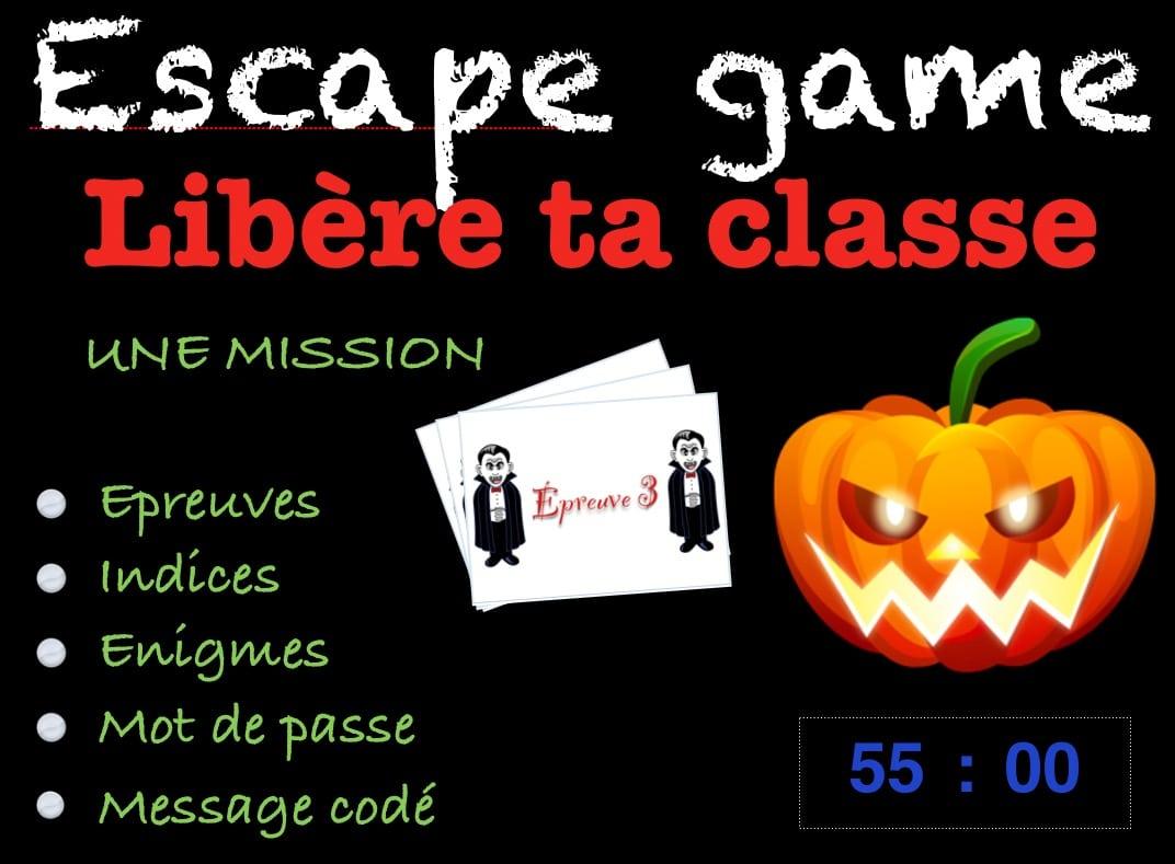 Escape Game Halloween Cm2 Avant Les Vacances - Profissime pour Halloween Ce2