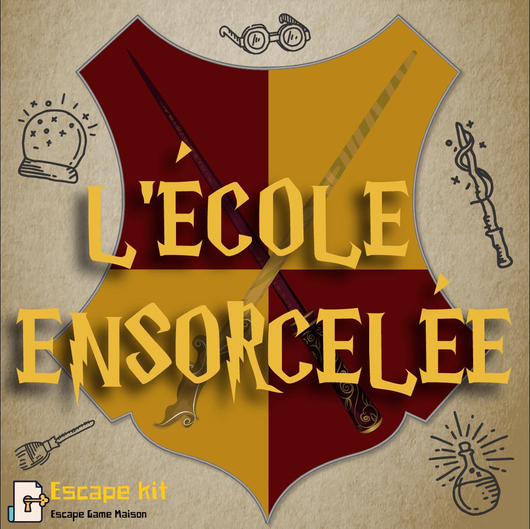 Escape Game Harry Potter - Ecole Ensorcelée - Escape Kit Enfants dedans Jeux De Fille De 11 Ans Gratuit