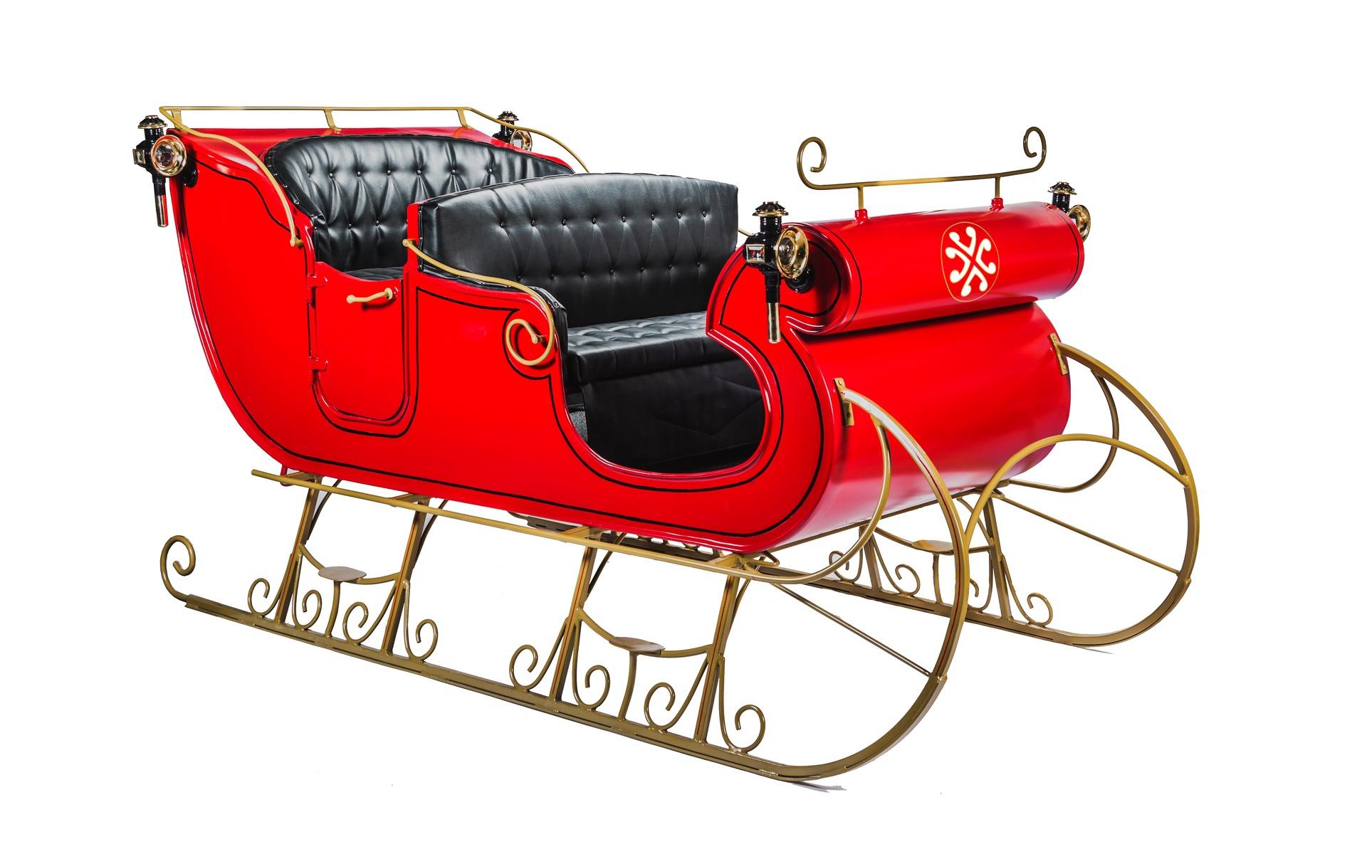 Essai Exclusif: Le Traîneau Du Père Noël - Guide Auto avec Image De Traineau Du Pere Noel