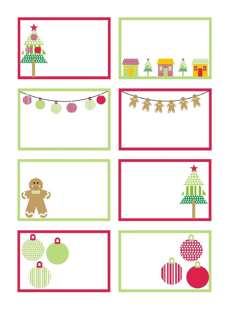 Etiquette Noel, Comment Les Fabriquer encequiconcerne Etiquette Noel A Imprimer