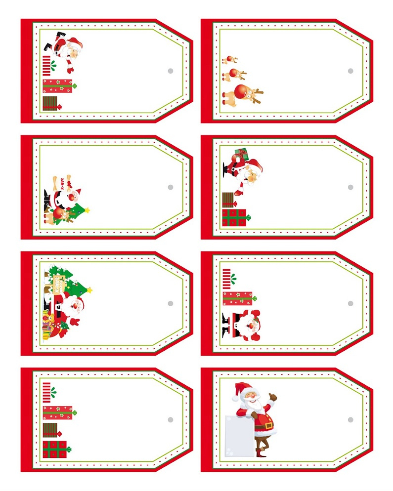 Etiquettes À Imprimer Pour Cadeaux De Noël À Offrir - serapportantà Etiquette Noel A Imprimer