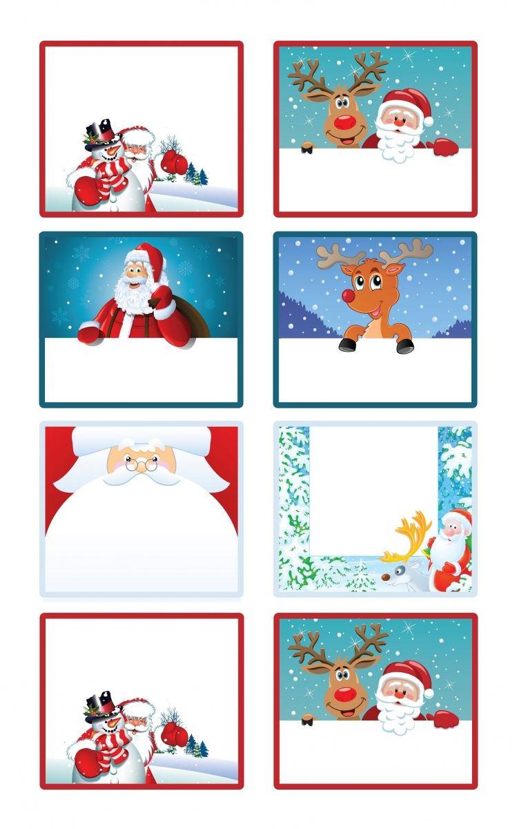 Etiquettes Cadeaux De Noël À Imprimer | Etiquettes Noel A dedans Etiquette Noel A Imprimer