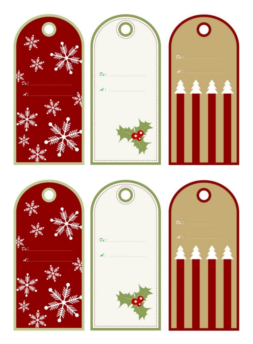 Etiquettes Gratuites Cadeaux Noël À Imprimer À La Maison destiné Etiquette Noel A Imprimer