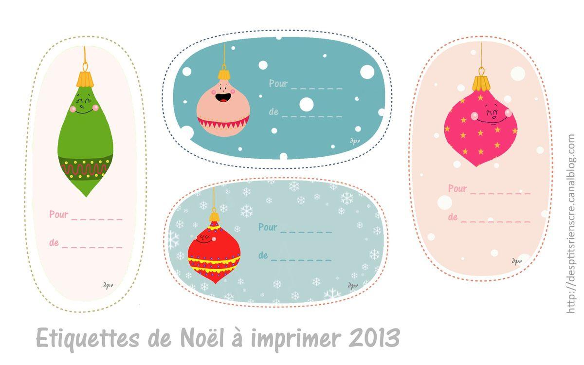 Etiquettes Noël À Imprimer Pour Étiqueter Nos Cadeaux tout Etiquette Noel A Imprimer