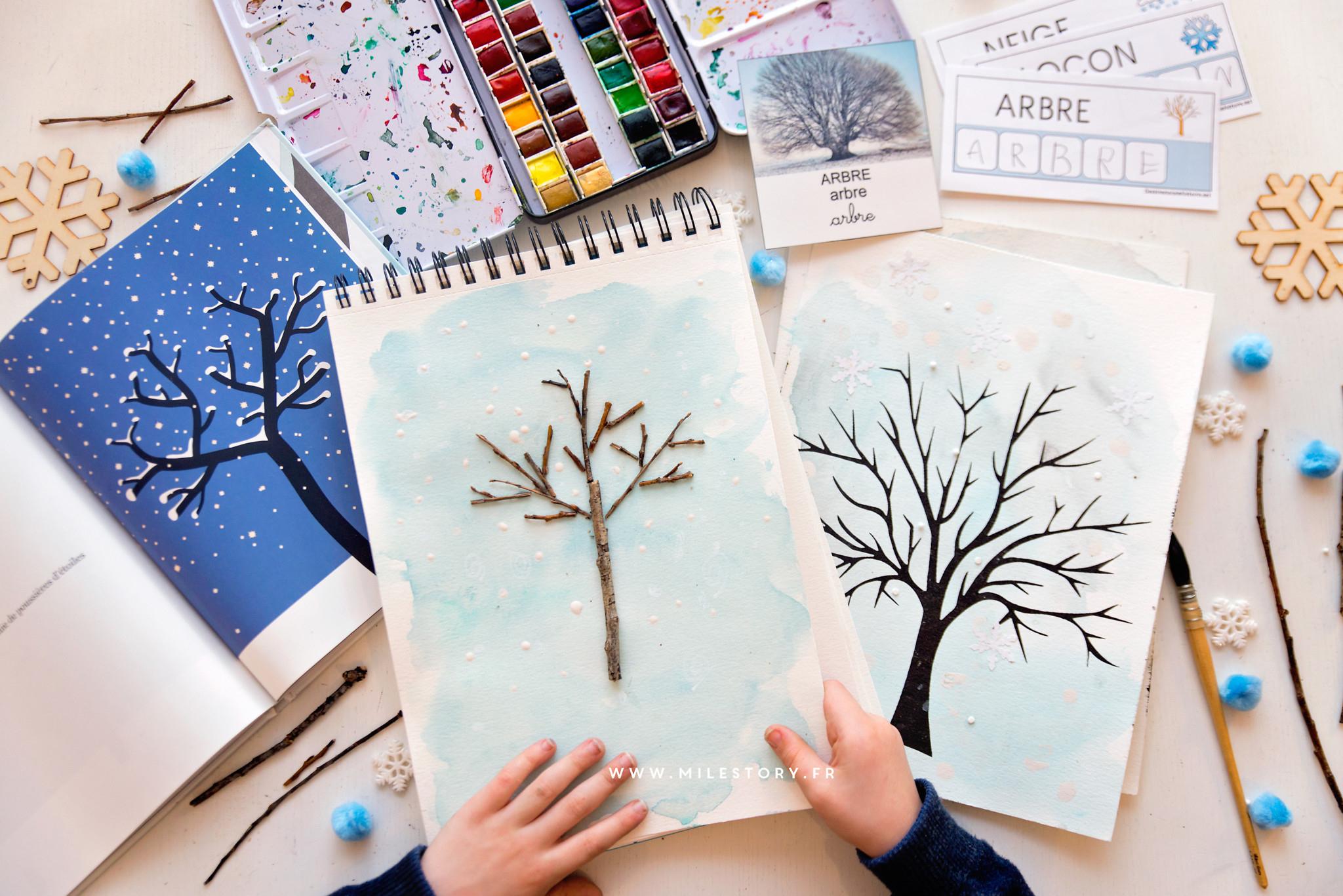 Exploitation Album L'arbre Et L'hiver En Maternelle - Milestory concernant Images Séquentielles Maternelle