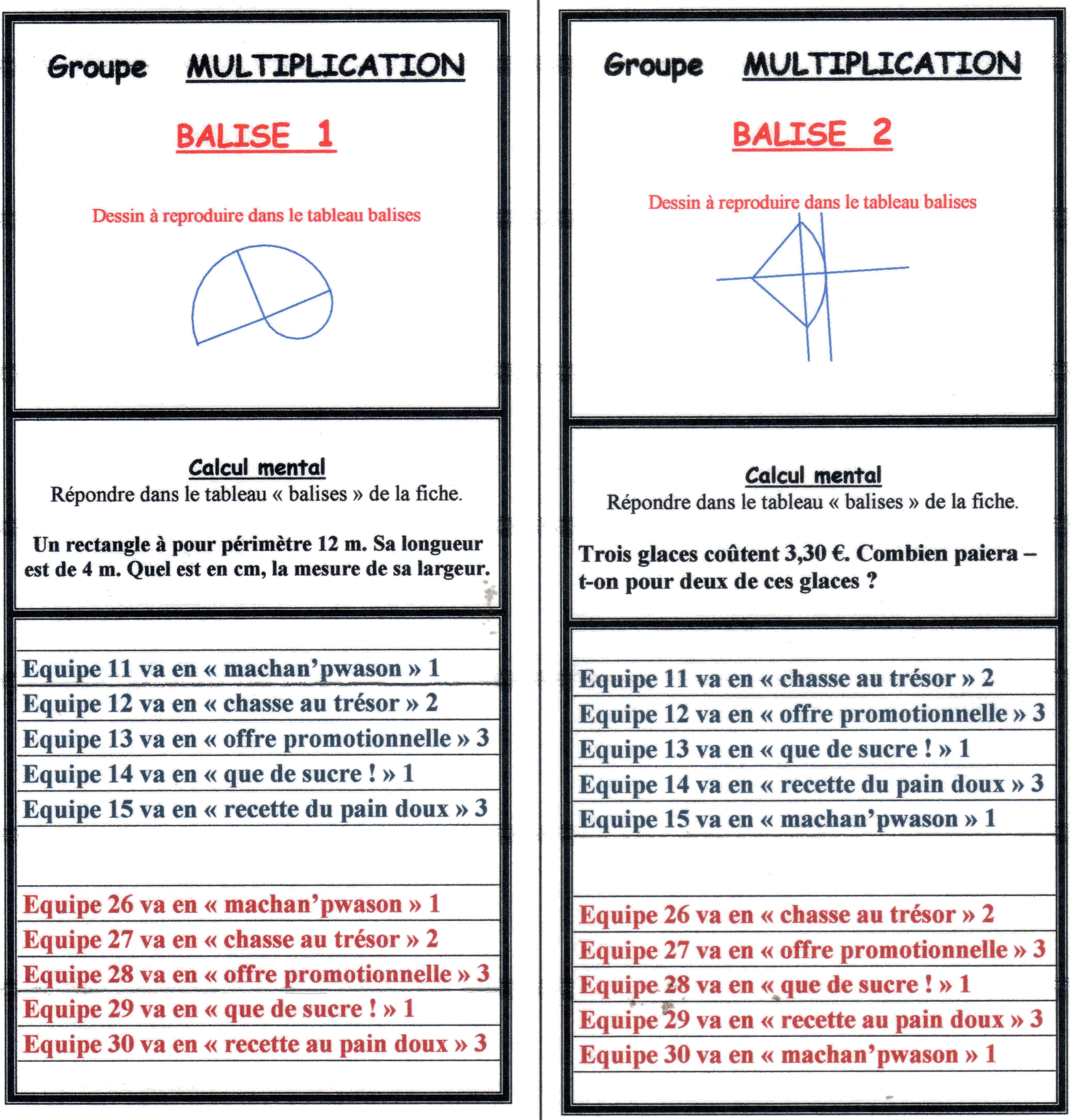Exploitation Des Figures Géométriques Du Rallye Cm/6Ème intérieur Figures Géométriques Ce1