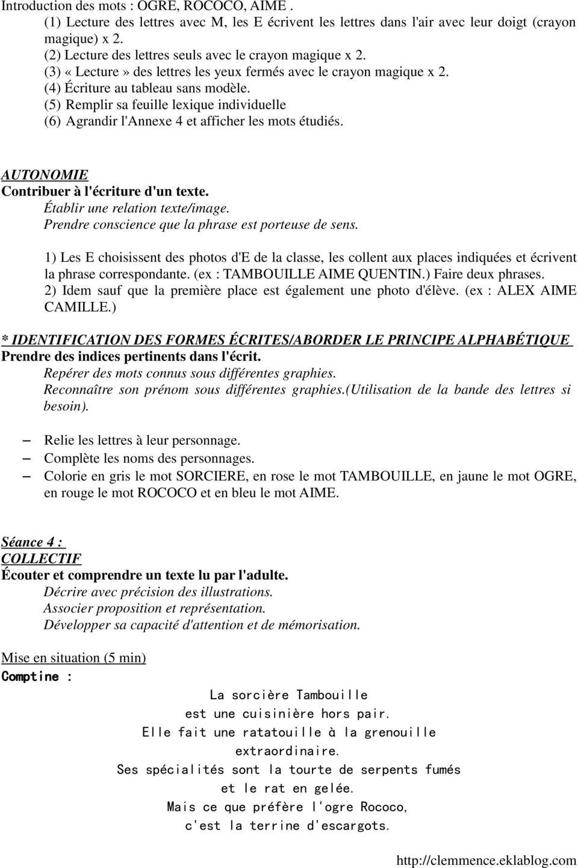 Exploitation La Sorcière Tambouille Gs. - Pdf Free Download destiné La Sorciere Tambouille