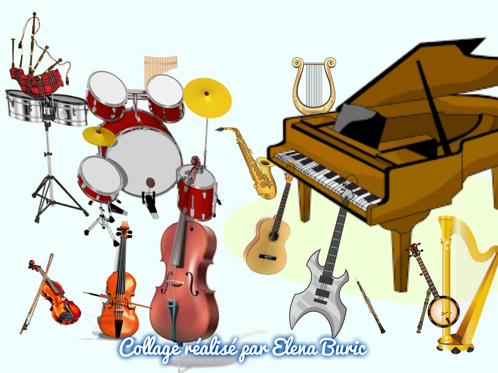 Expressions Avec Des Instruments De Musique. Cartes-Éclairs intérieur Quiz Musical En Ligne