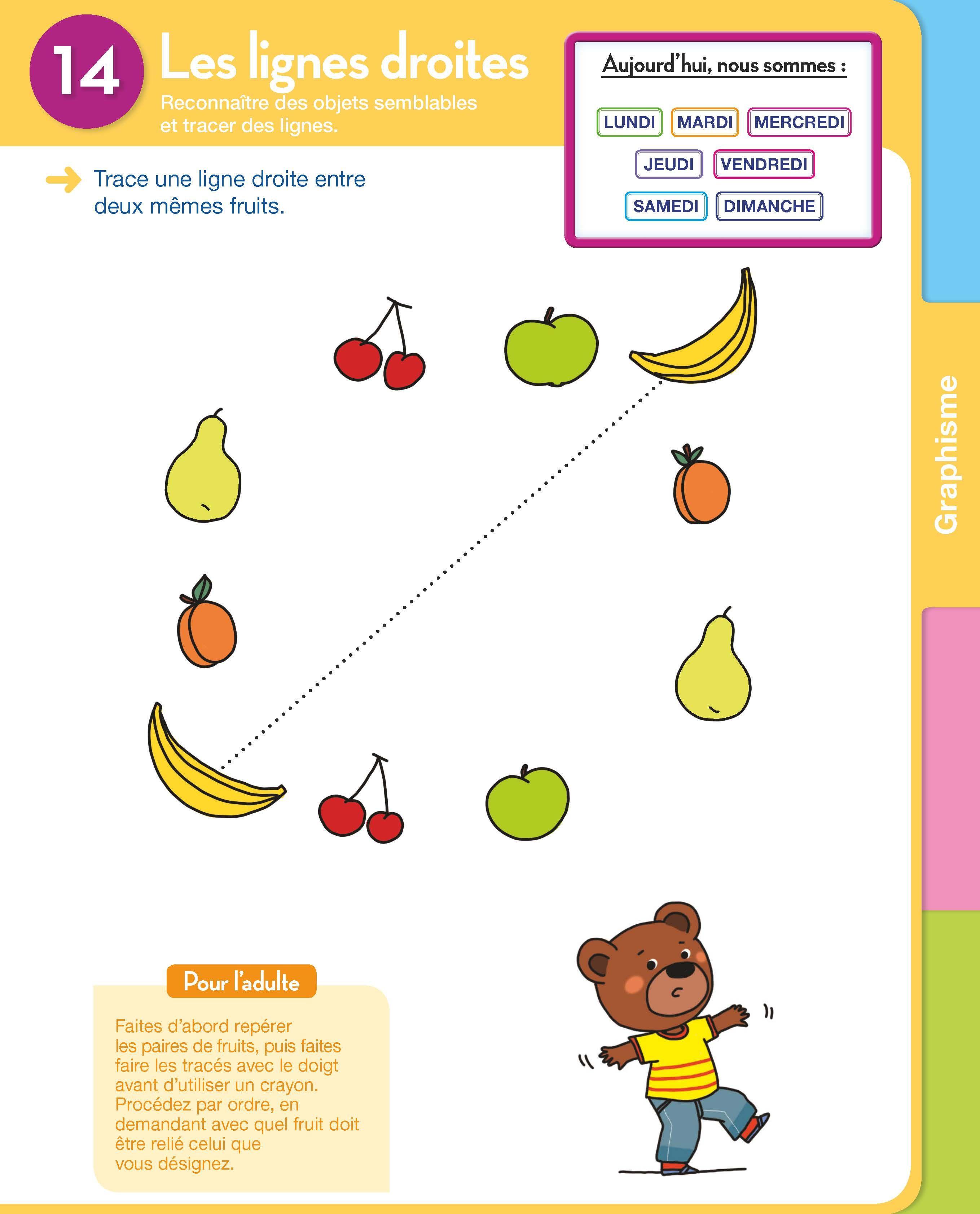 Image agrandie: Les Lignes Droites Toute Ma Maternelle Destiné Jeux Educatif 3 Ans En Ligne
