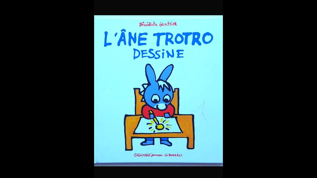 🐛lecture : L'âne Trotro Dessine à Doudou Ane Trotro