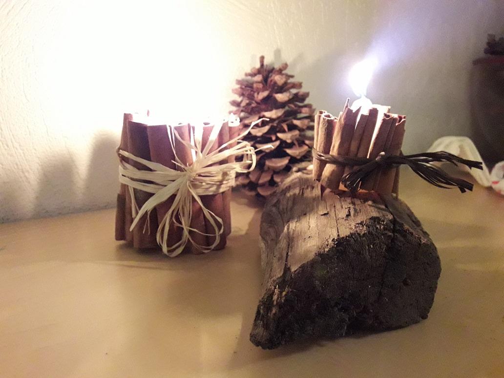 Fabriquer Des Bougies À La Cannelle - tout Bricolage Avec Baton De Bois