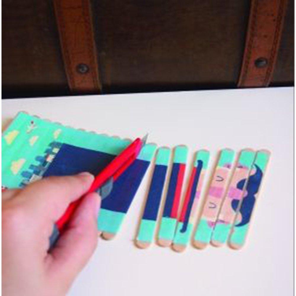 Fabriquer Des Jeux Pour Enfants : Nos 20 Meilleures Idées intérieur Bricolage Avec Baton De Bois