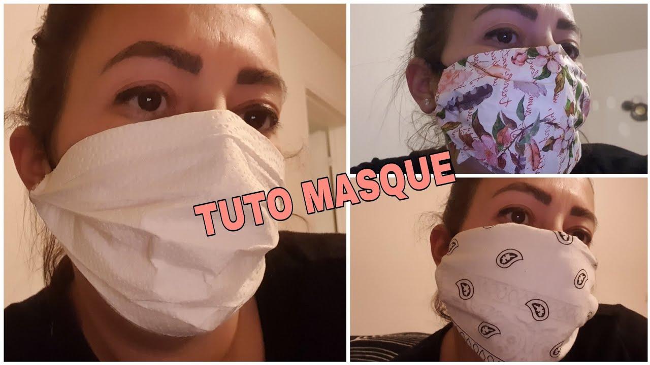 Fabriquer Son Masque De Protection Avec Filtre - Homemade Mask intérieur Masque Canard À Imprimer