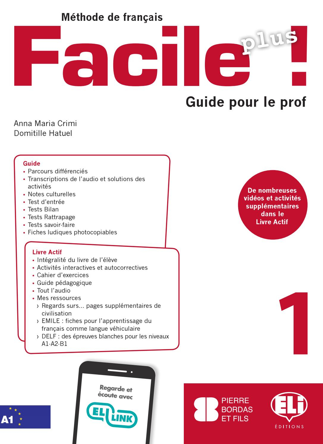 Facile Plus - Guide 1 By Eli Publishing - Issuu concernant Comptine Bonjour Madame Lundi
