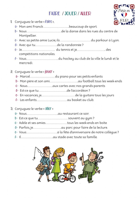 Faire-Jouer-Aller - Interactive Worksheet intérieur Ce Soir On Joue En Famille 3