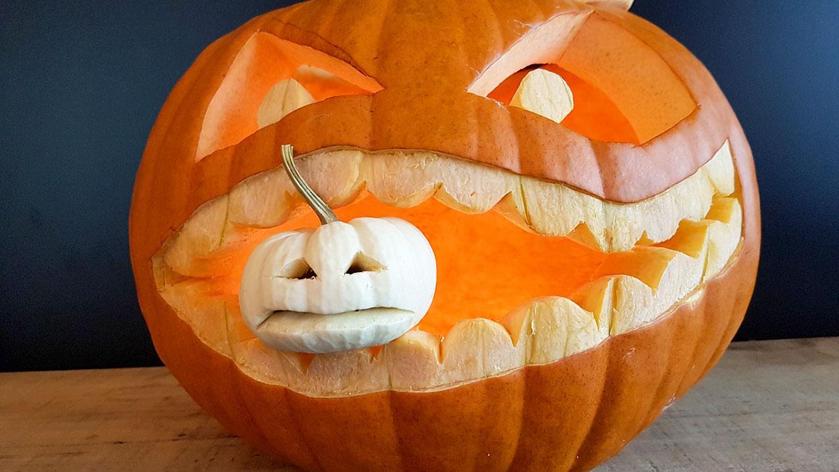 Faire Une Citrouille D'halloween - Blog Jardin concernant Photo De Citrouille D Halloween