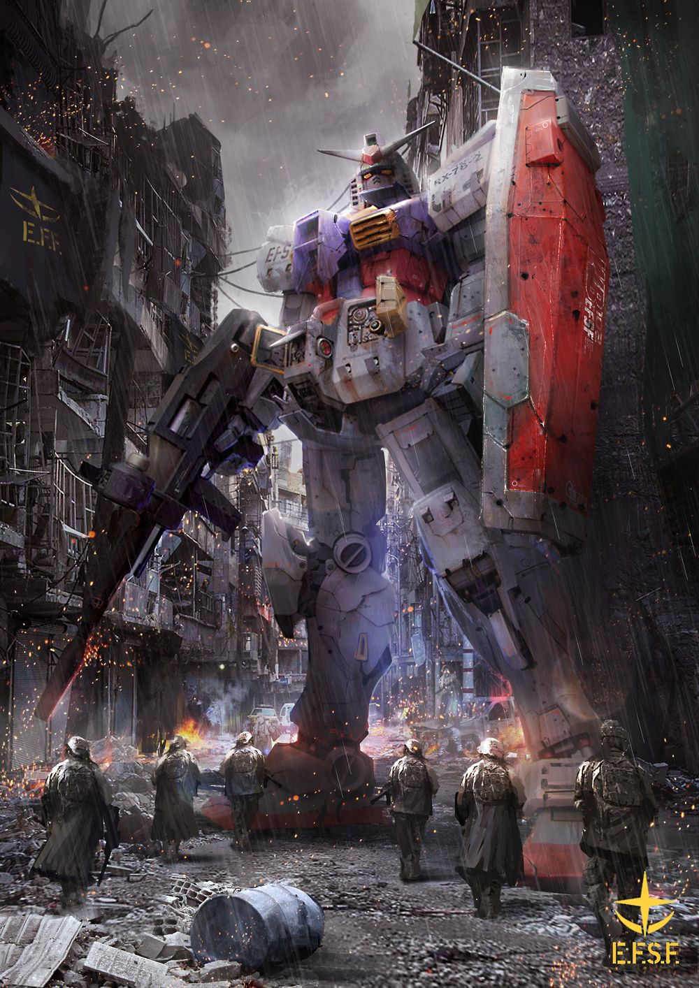 Fanart: Awesome Gundam Wallpapers By Thedurrrrian | Fond concernant Photos Goldorak Gratuit