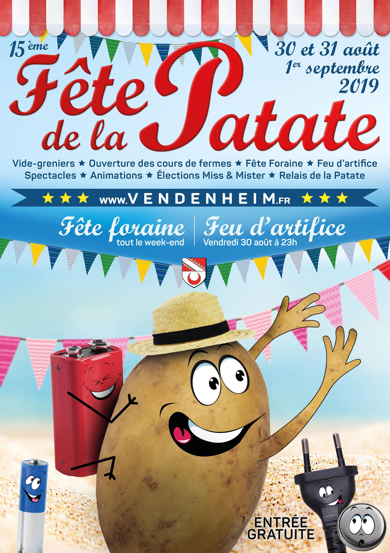 Fête De La Patate - Mairie De Vendenheim tout Chanson De La Patate