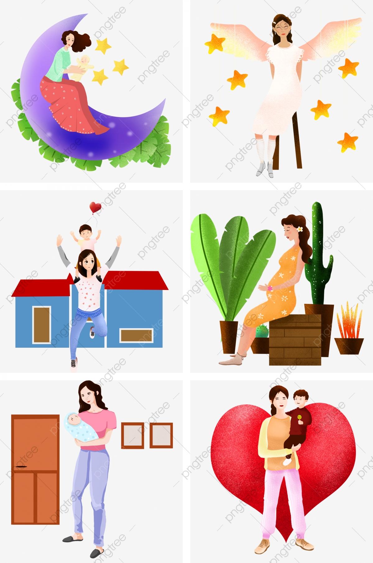 Fête Des Mères Personnage Enfant Puzzle, Enfant, Puzzle tout Puzzle Gratuit Enfant
