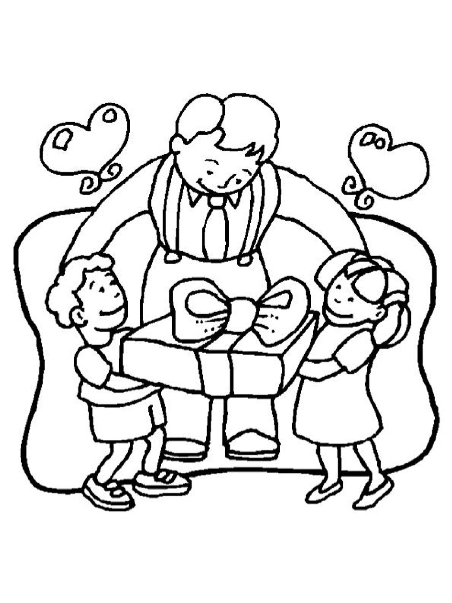 Fête Des Pères 2020 Et 2021 - Calendriervip dedans Coloriage Fete Des Peres